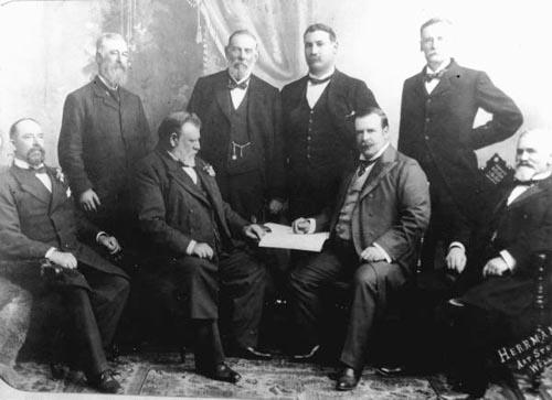 Members of the Seddon Ministry, 1900