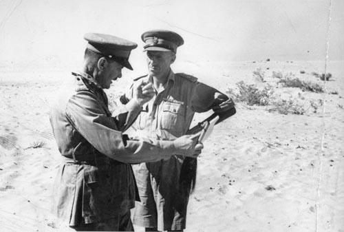 Bernard Cyril Freyberg (left) and Howard Karl Kippenberger