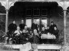 The Williams family at 'Hukarere', Napier