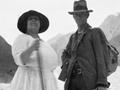 Rosina Buckman and Peter Graham on the Franz Josef Glacier, 1922