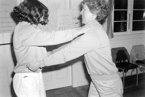 Practising self-defence