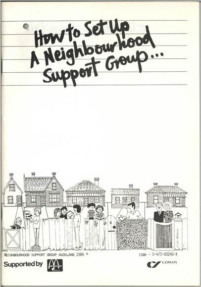 Neighbourhood Support Group booklet