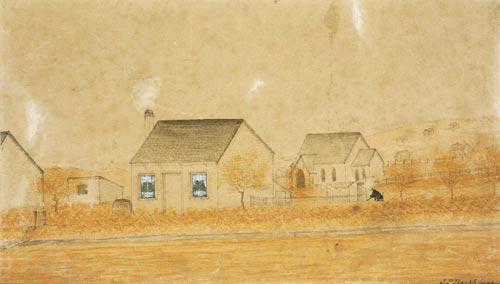 Settler's cottage, Hamilton