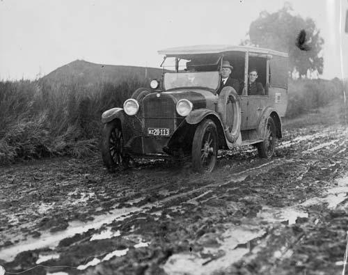 Waikato roads, 1920s
