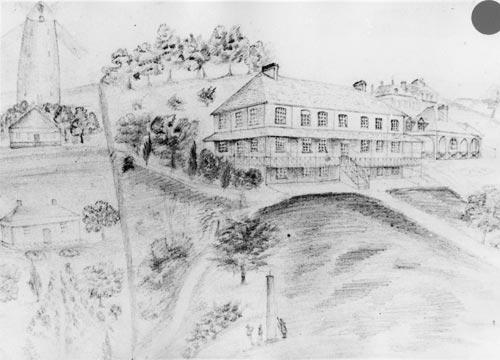 Wesley College, 1848