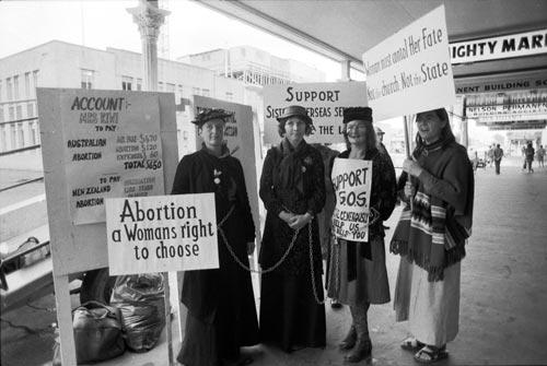 Abortion activism, 1978