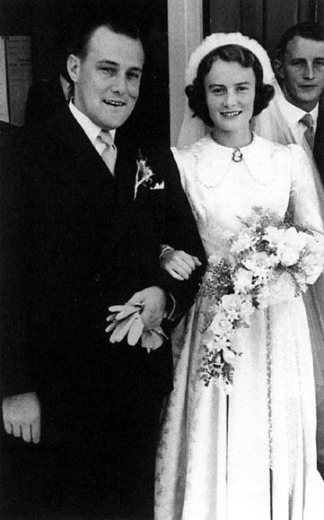 Family album: 1950s wedding