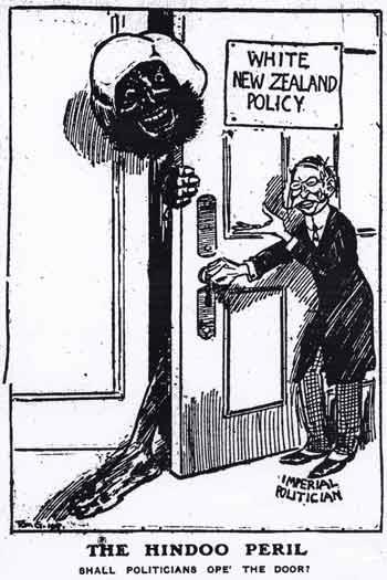 Anti-Indian cartoon