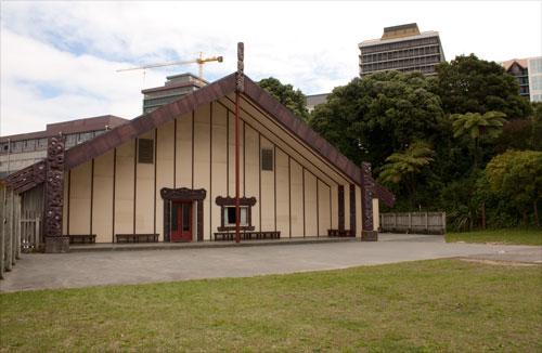 Pipitea marae, Wellington