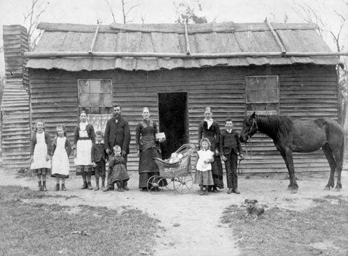 Large family, 1889