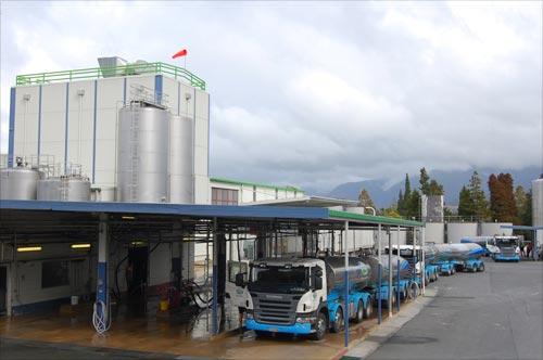 Tākaka dairy factory, 2010