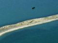 Boulder Bank: aerial view