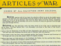 'Articles of war', 1931