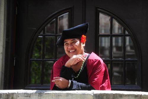 Samoan graduate