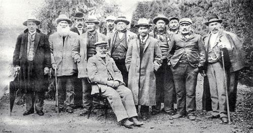 Mahunui council, 1902