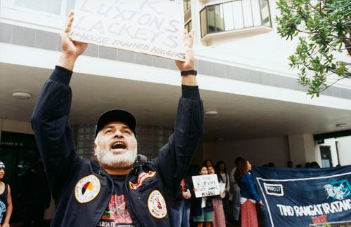 Protesting against 'kūpapa'