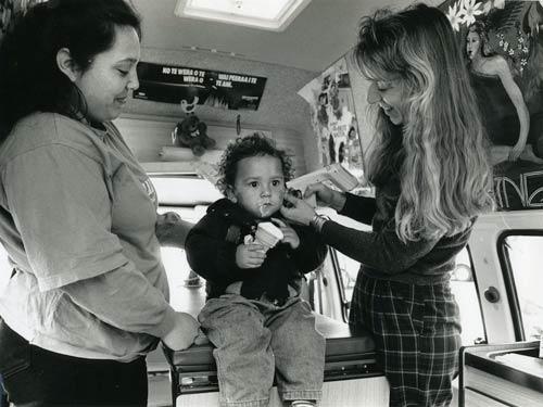 Ear check, 1993