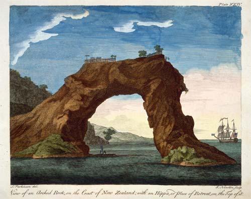 Early European visitors: fortified pā, Mercury Bay