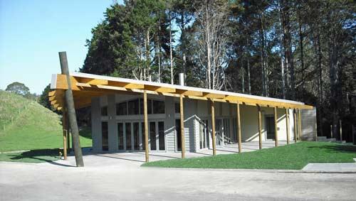 Whakatāne crematorium, 2009
