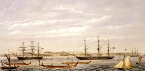 HMS Miranda, 1862