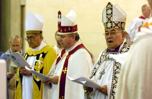 Three Anglican archbishops