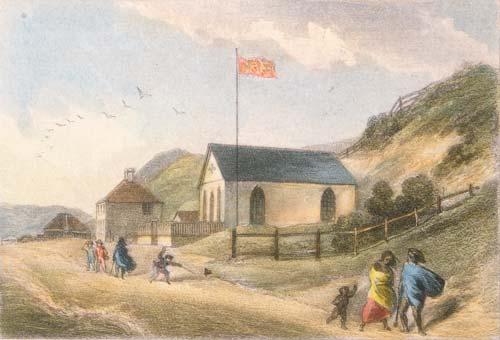 Te whare karakia Perehipitiriana, Te Whanganui-a-Tara, i te tau 1847