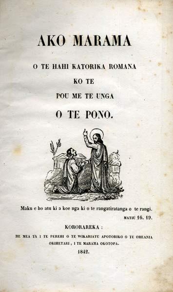 Hei whakarāpopoto mō te Katorika me te Māori