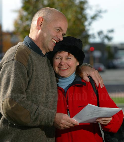 Civil unions: Mike and Tracy Peters