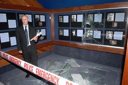 Waiōuru Army Museum burglary, 2007