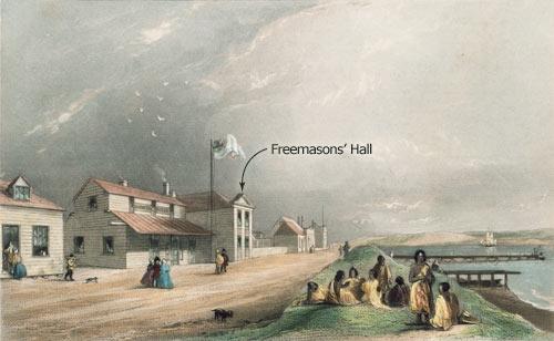 Freemasons' hall, Wellington