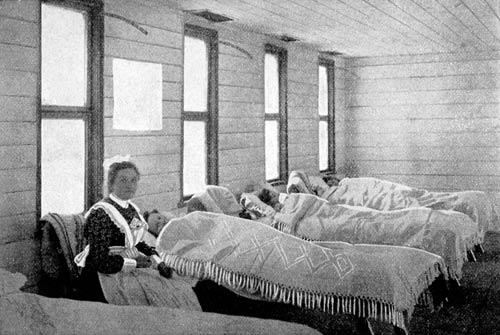 Scarlet fever hospital, 1903