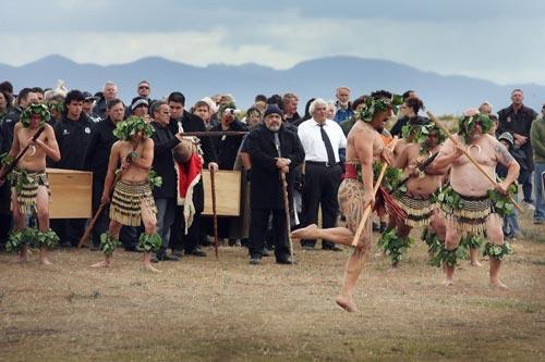 Wairau Bar: reburial of ancestors
