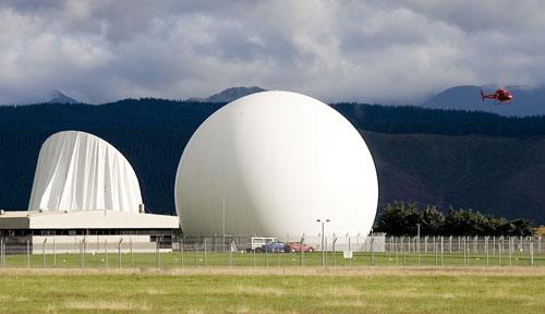 Waihopai: deflated dome