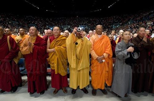 Dalai Lama's visit, 2007