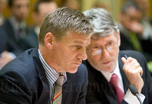 Treasury secretary advises the finance minister, 2011