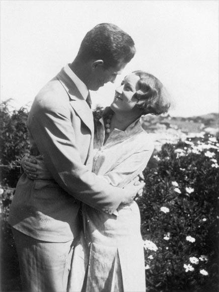 Sylvia and Keith Henderson, around 1932