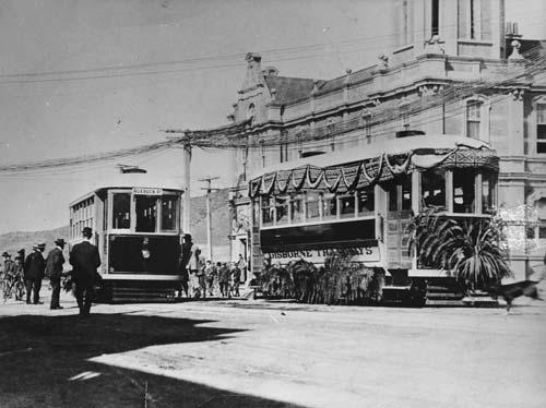 Gisborne's trams
