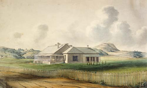 Government House, Auckland, 1840s