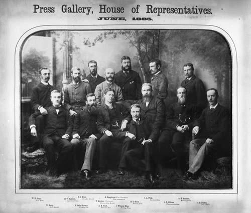 Press gallery: 1885
