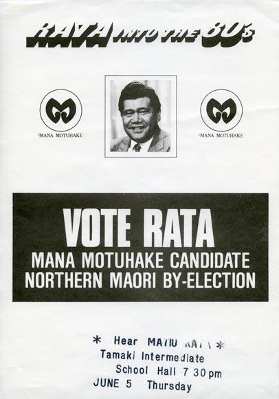 Ngā Mema Māori: Matiu Rata