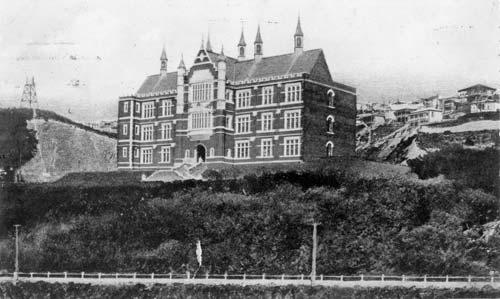 University buildings: Hunter Building, Victoria University College, 1908