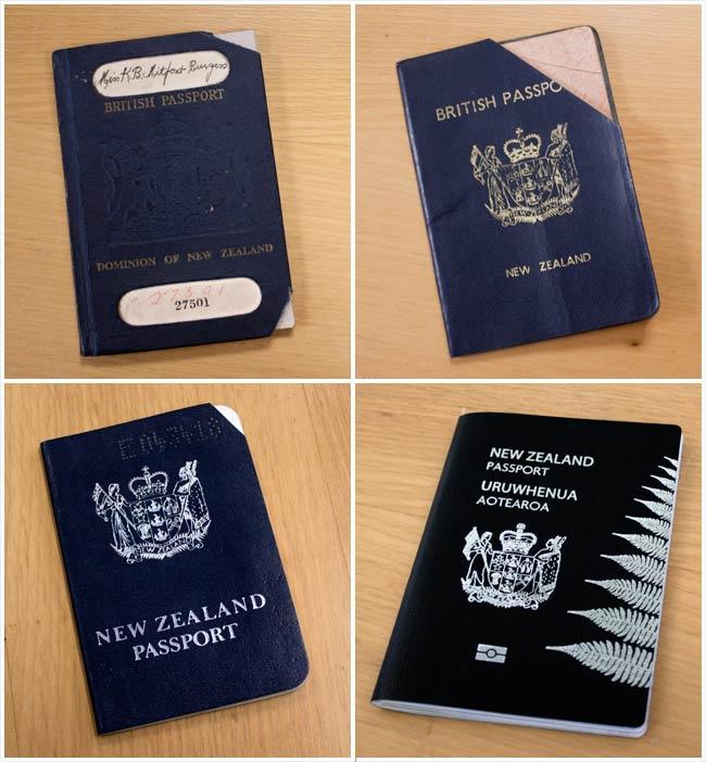 New Zealand passports since 1948