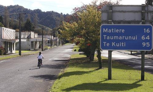 Ōhura: a quiet township in 2011