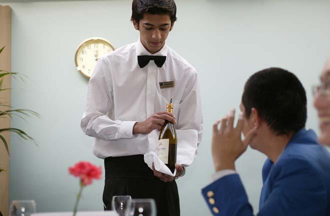 Pacific International Hotel Management School student