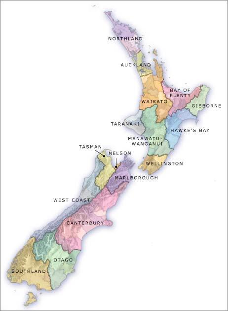 Regional authorities, 2019