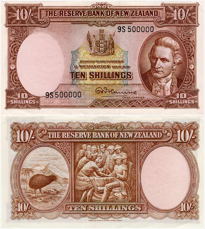 Second series of banknotes: 10 shillings