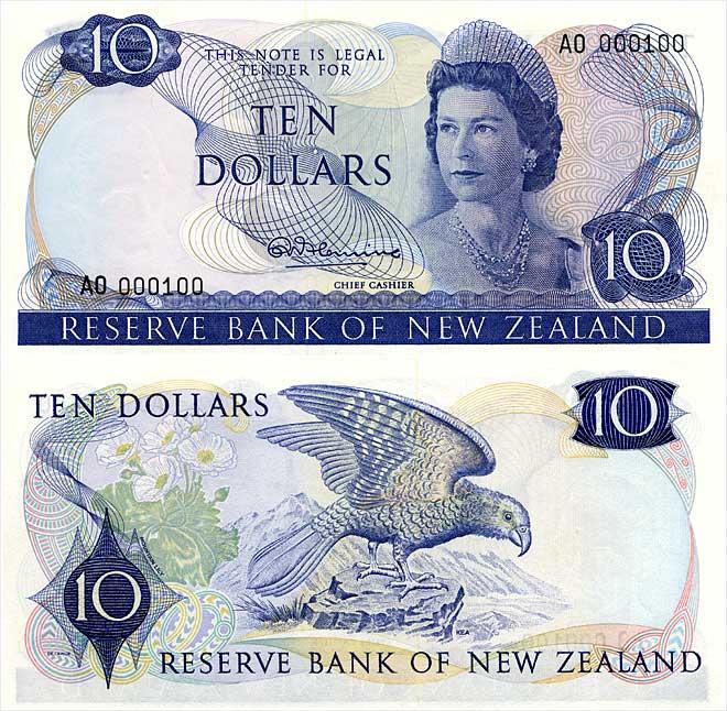Third series of banknotes: $10