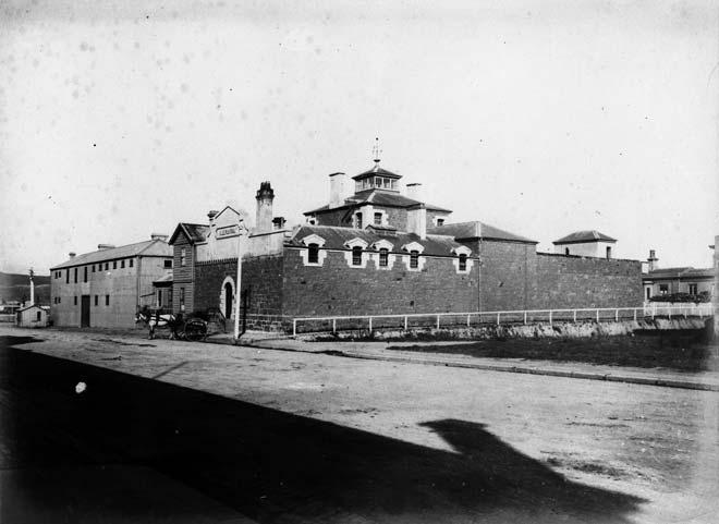 Dunedin Prison, 1880s