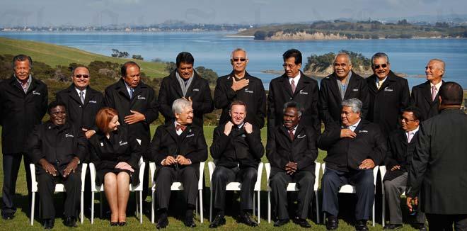 Pacific leaders, 2011