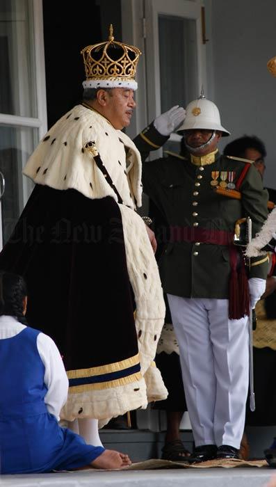 King George Tupou V, 2008